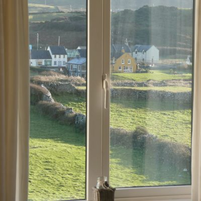 View on to Doolin Village